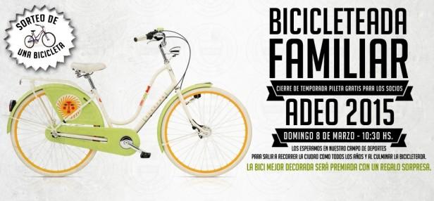 Bicicleteada para cerrar la temporada de verano