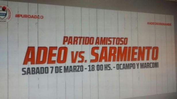 Clásico de básquet local. ADEO vs Sarmiento