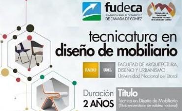 Inscripción Abierta para la Tecnicatura en Diseño de Mobiliario