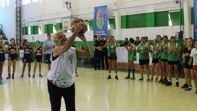 Clérici participó del Torneo de Basquet Femenino
