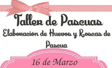 Inscriben al Taller de Pascua