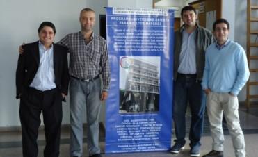 Los ediles del radicalismo se reunieron con el coordinador de Universidad Abierta