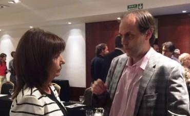 Rosario: Rasetto se reunió con la ministra Bullrich