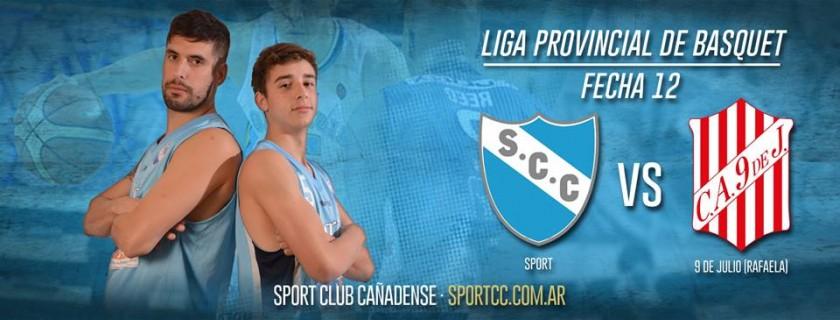 Liga Provincial de Basquet: Sport volvió a la victoria