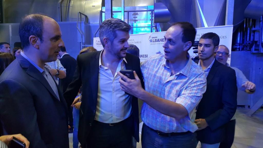 Rasetto participó de la inauguración de una nueva Central Térmica en Timbúes