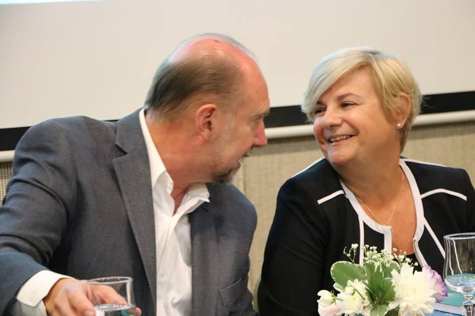 Clérici junto a Perotti y Grandinetti expusieron en mesa de díalogo en Santa Fe 2030