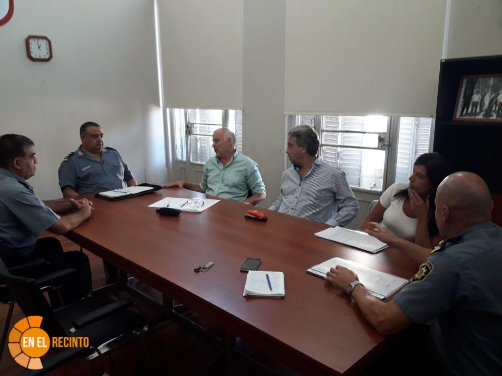 Además de la ampliación de la Alcaidía la reunión tuvo otros temas
