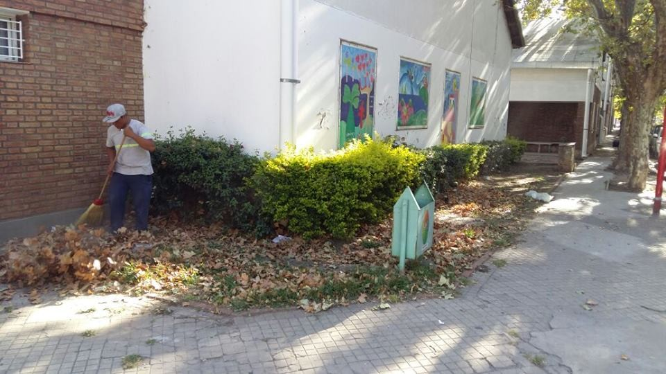 El Municipio intensifica los trabajos de higiene urbana