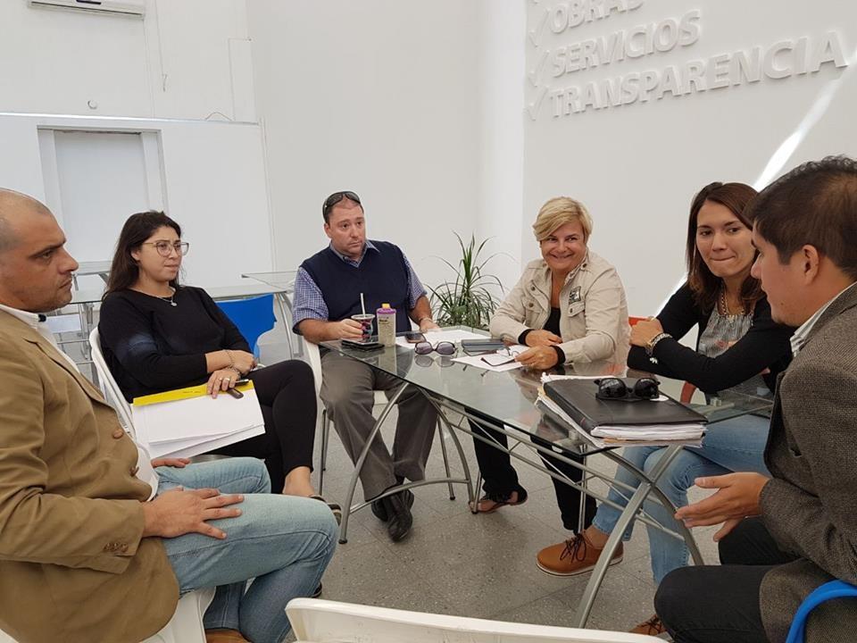Clerici se reunió con abogados por el nuevo edificio