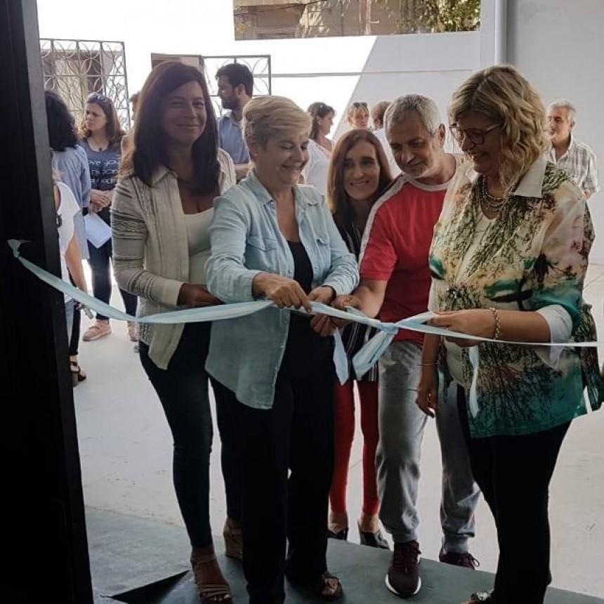 La intendenta junto a la ministra de educación inauguró las obras en el CEF