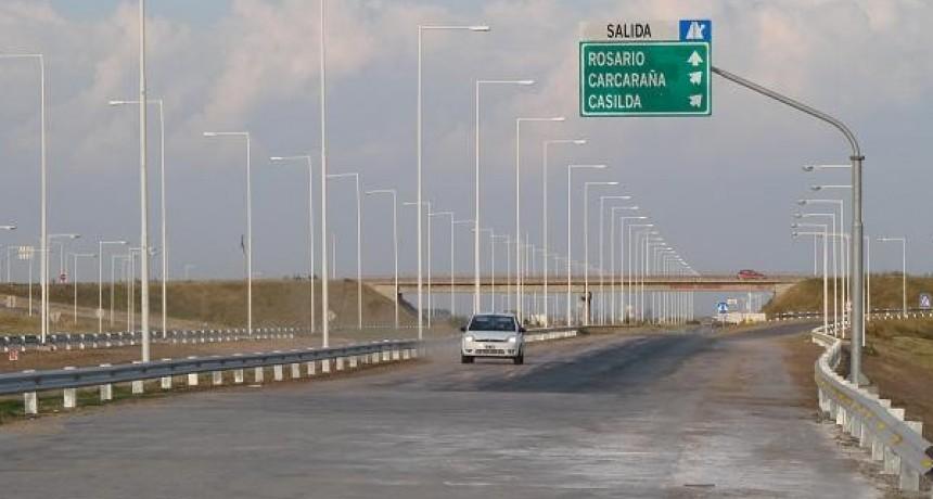 Vialidad Nacional y Cinco Vial deberán reparar la Autopista