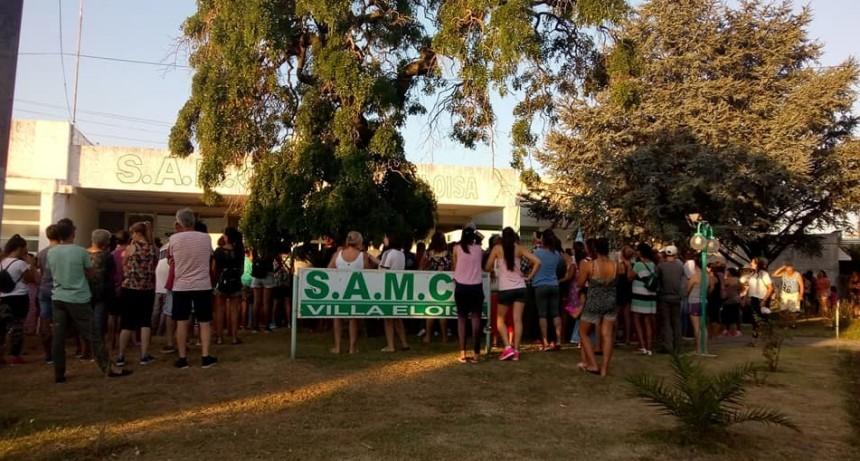 Villa Eloisa: Pidieron la renuncia del director del SAMCO