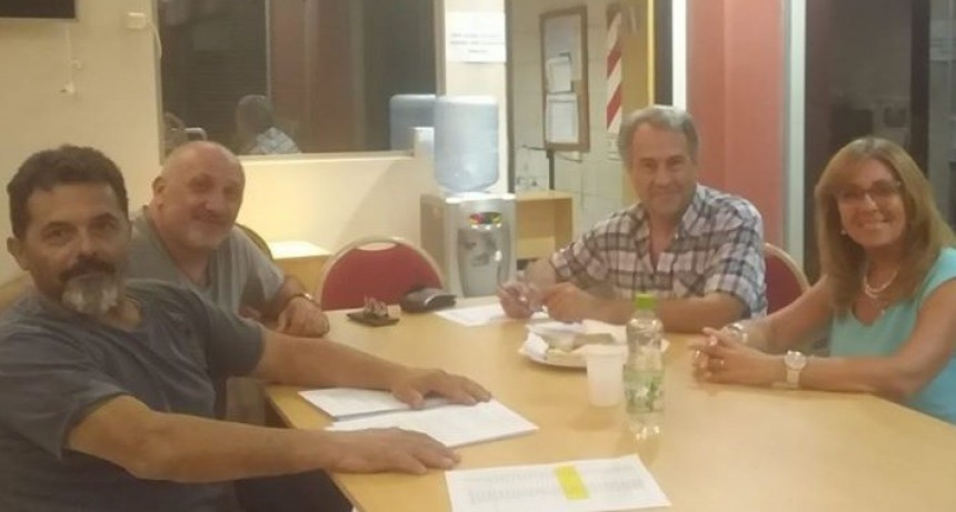 Casalegno recibió a la secretaria de Deportes de la Provincia