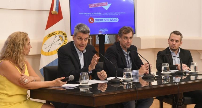 El gobierno provincial garantiza la circulación de transporte de alimentos, medicamentos y combustibles