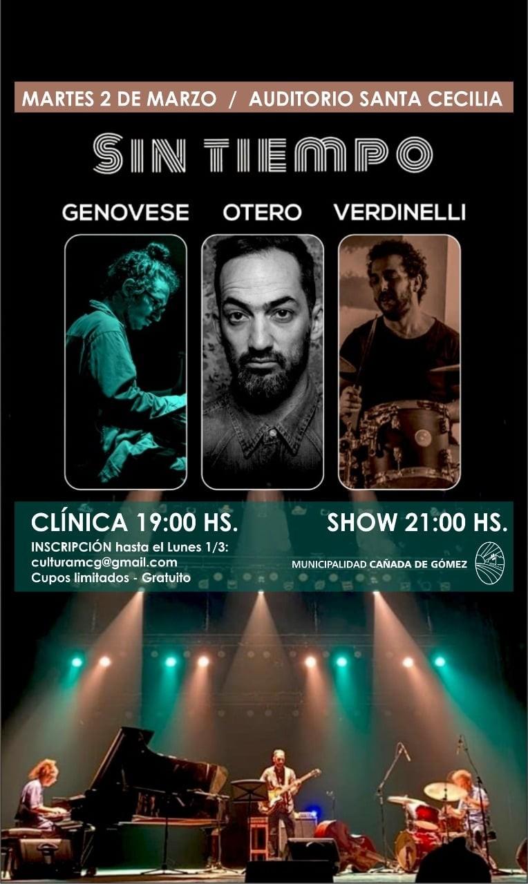 Clínica y show de jazz rock
