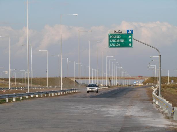 Minuet: No solo no hay luces en la autopista y los accesos a Cañada sino también sobre la ruta 91 hasta la 34