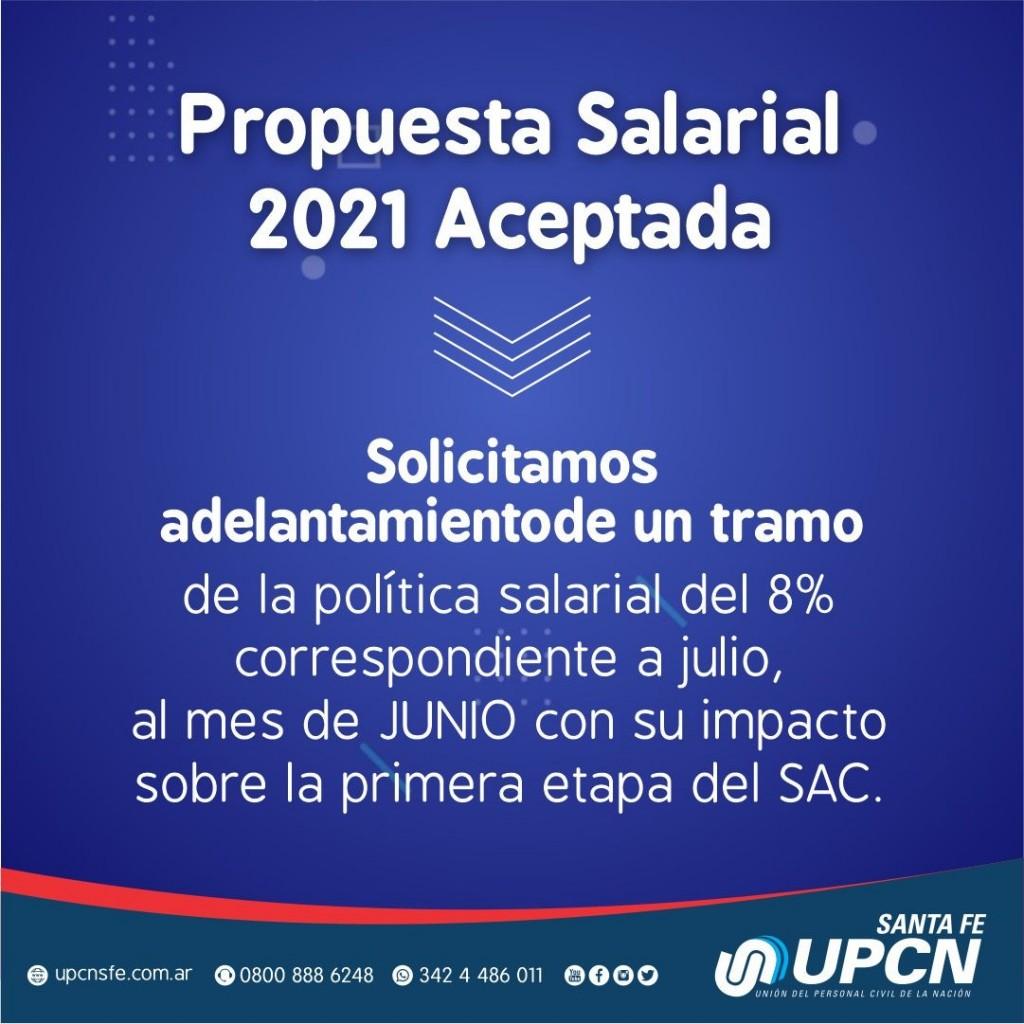 UPCN aceptó la propuesta salarial