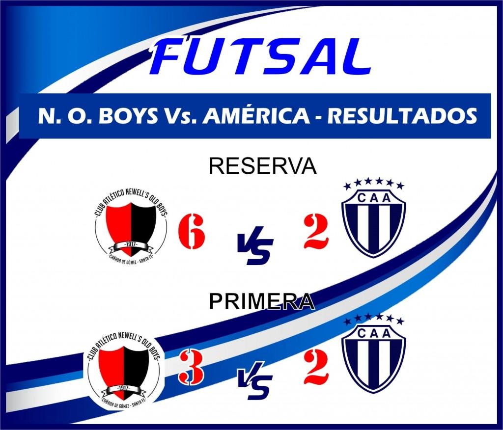 América  perdió de visitante en los partidos disputados por el Futsal