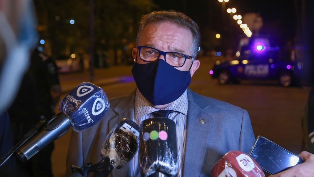 """Lagna: """"Vamos a hacer lo imposible para poner más presencia policial en la calle y aumentar los operativos de prevención"""""""