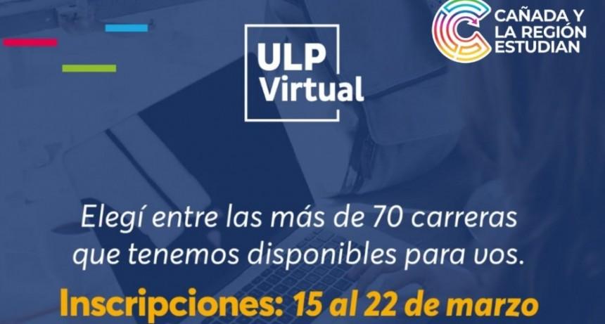 Sigue abierta la inscripción a las 70 carreras virtuales de la Universidad de La Punta