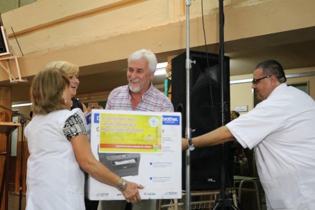 El festejo del Centenario de la Escuela Alberdi contó con la presencia de la intendenta