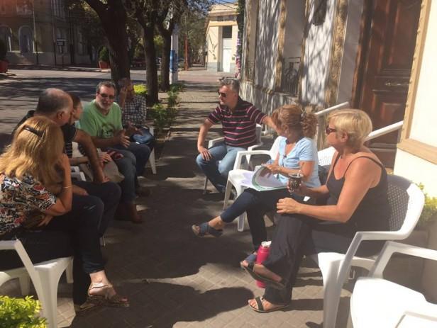 Nueva reunión de Clerici con comerciantes