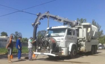 El Municipio gestionó la llegada del camión desobturador