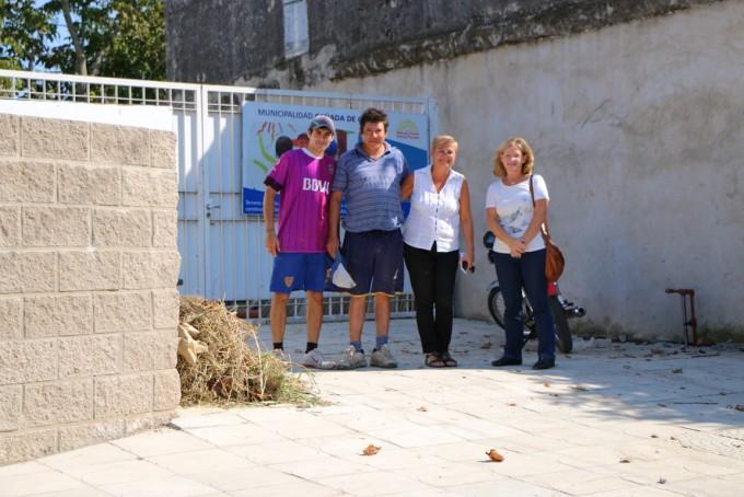 El Municipio concreta mejoras para el hogar de varones
