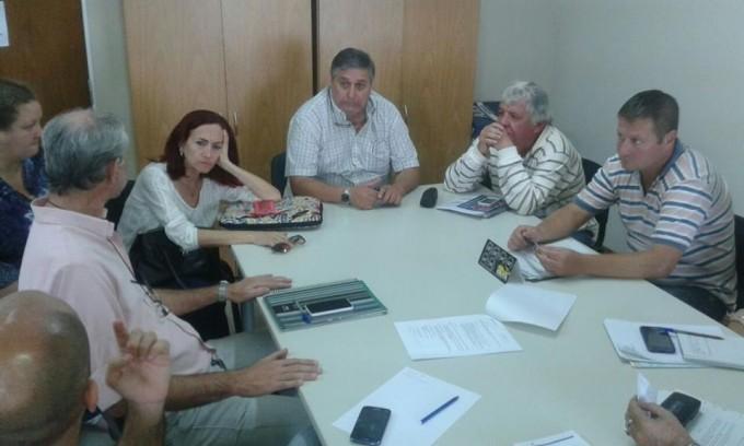 Reunión de UPCN y el Ministerio de Educación
