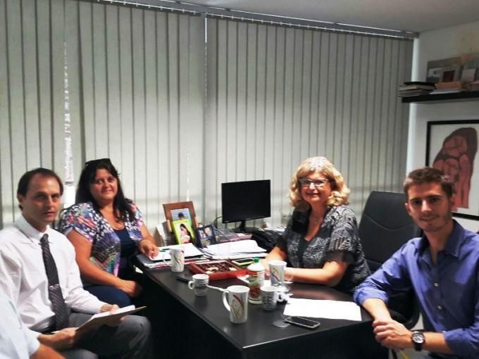 Rasetto se reunió con la ministra de Educación