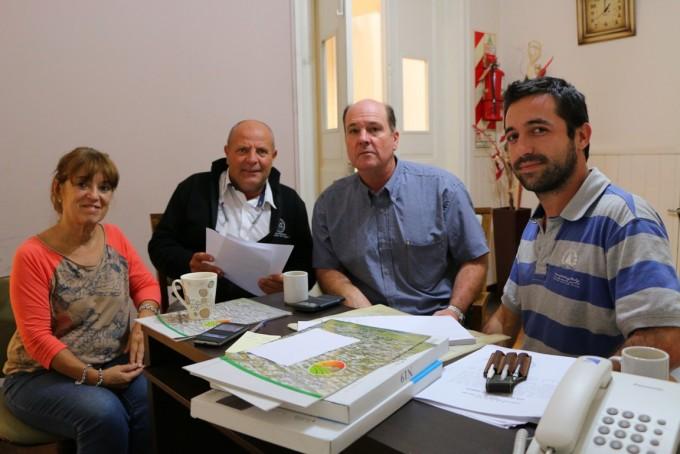 Reunión del Municipio con Vialidad Provincial