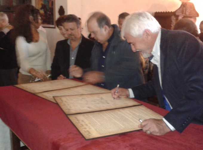 La Municipalidad presente en la firma del Pacto de San Fransisco
