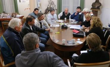 Los clubes se reunieron con el Municipio para afrontar las tarifas de luz y gas