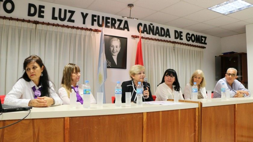 La intendenta participó de la Charla por el mes de la mujer