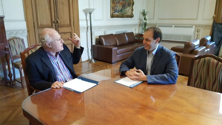 Lifschitz y Rasetto en una reunión clave para el Departamento Iriondo.