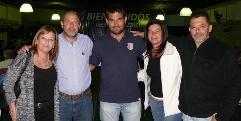 Mozzoni entregó aportes a la Cañada Rugby