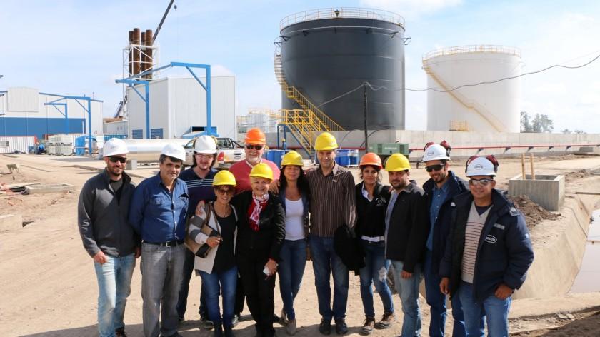 Autoridades municipales recorrieron Trabajos en Central Termoeléctrica