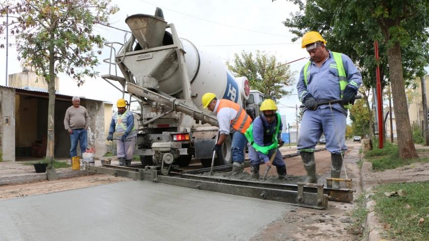Municipio inicia circuito de pavimento en ex Tiro Federal