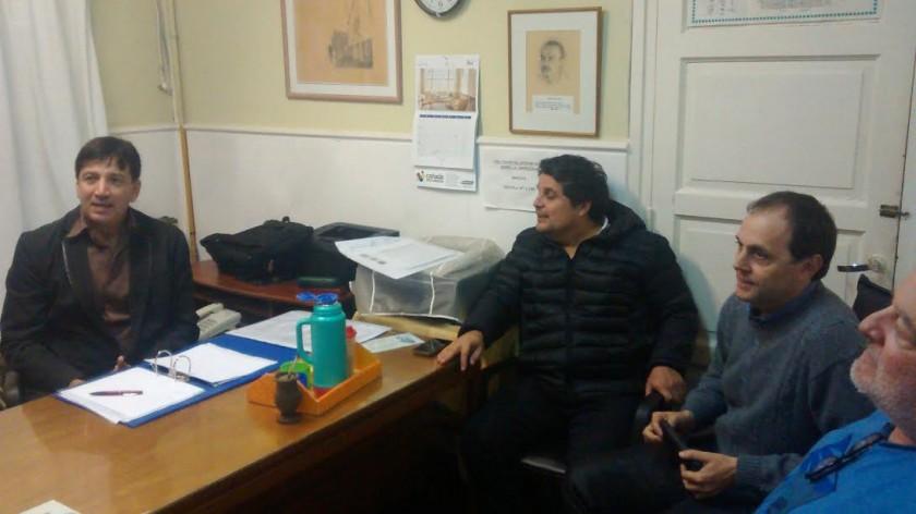 Rasetto se reunió con autoridades del Instituto Superior del Profesorado N°5 Perito Moreno
