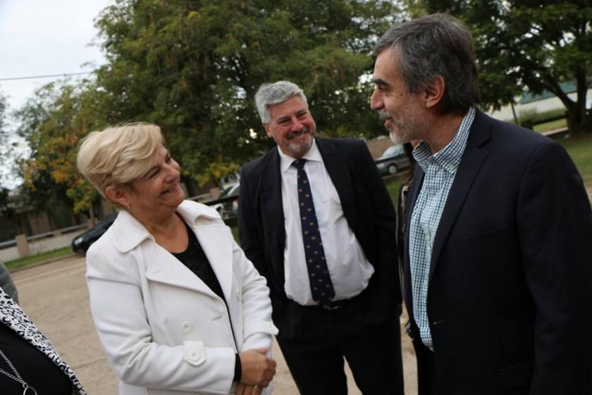Clérici continúa gestionando mejoras para el dispensario del Barrio Fonavi