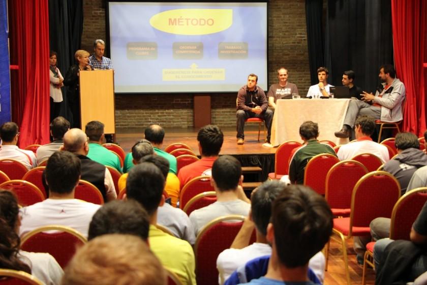 Clerici y Casalegno participaron del inicio de actividades del Torneo U17 de Basquet