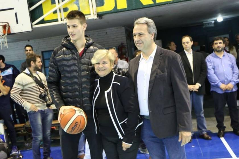 Clerici y Casalegno abrieron oficialmente el Campeonato Argentino de Basquet U17