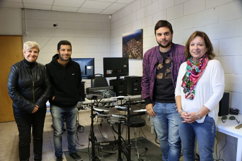 El Municipio presentó su estudio de grabación