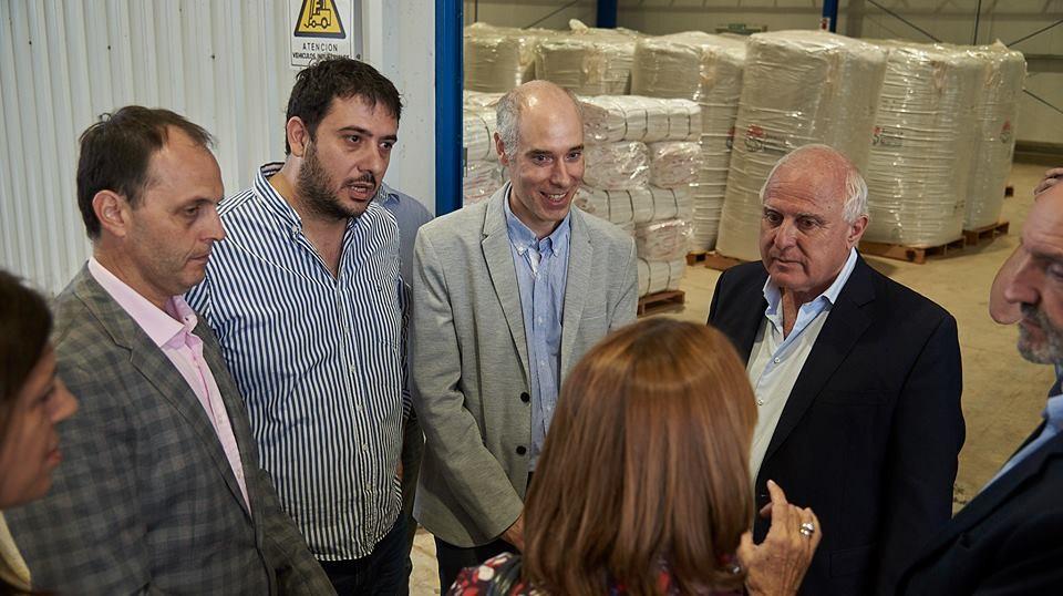 Rasetto destacó y agradeció al gobernador Lifschitz por su visita a Iriondo