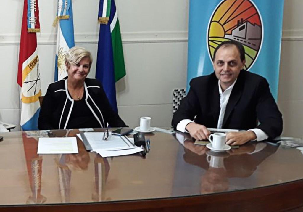 Rasetto se reunió con Clerici en Cañada de Gómez