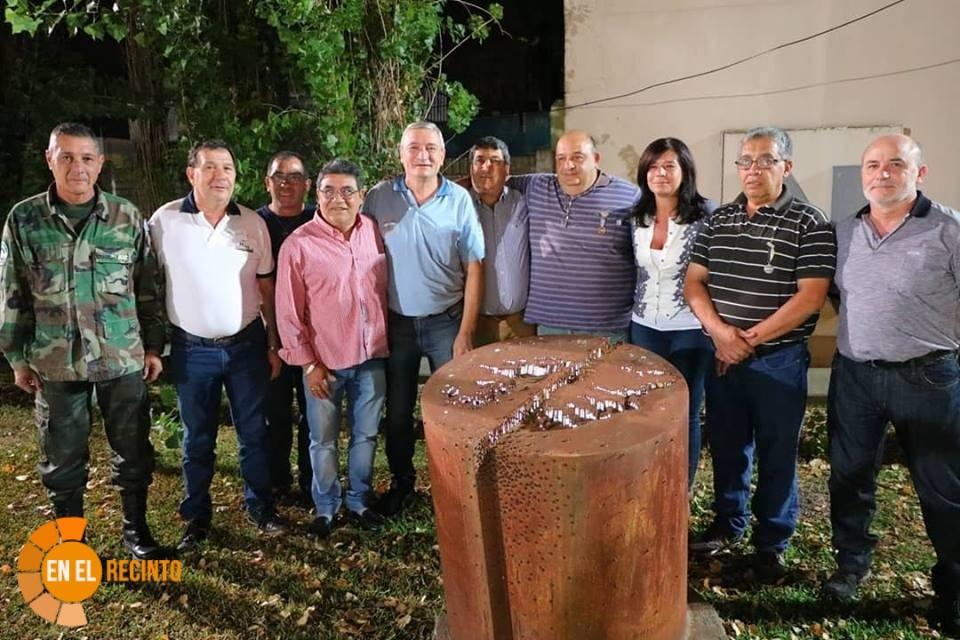 Homenaje del Concejo a los ex Combatientes