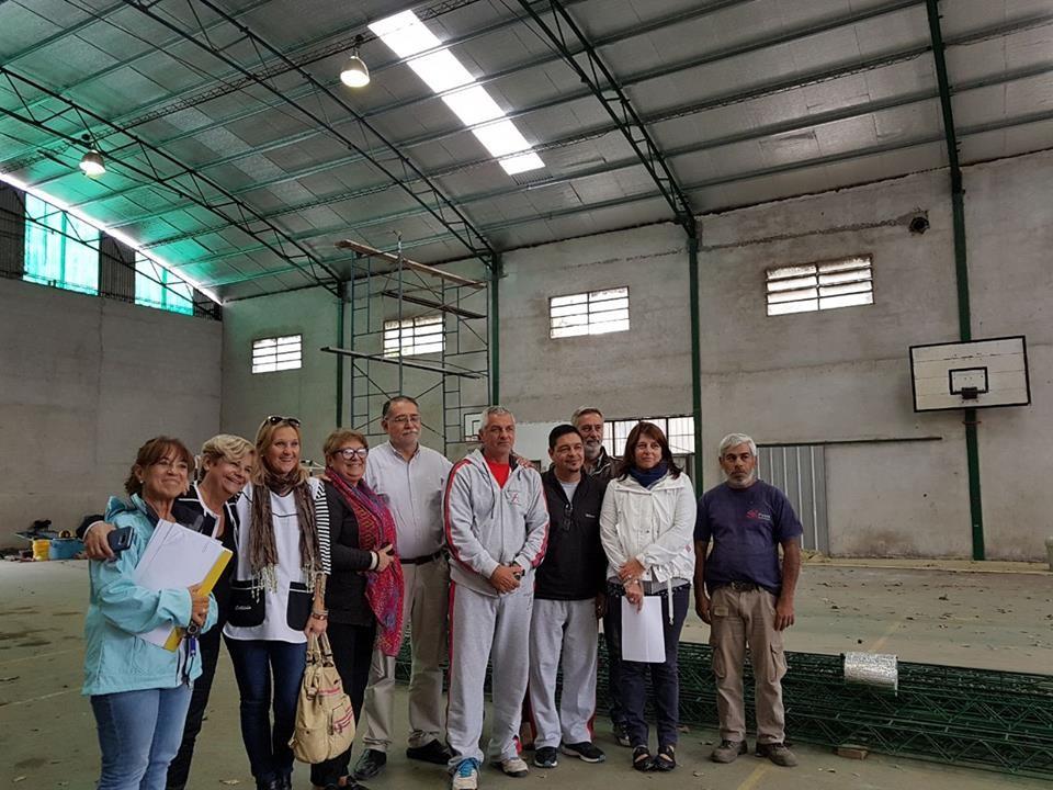 Finalizaron las tareas de recambio de techo en el Centro de Educación Fisica