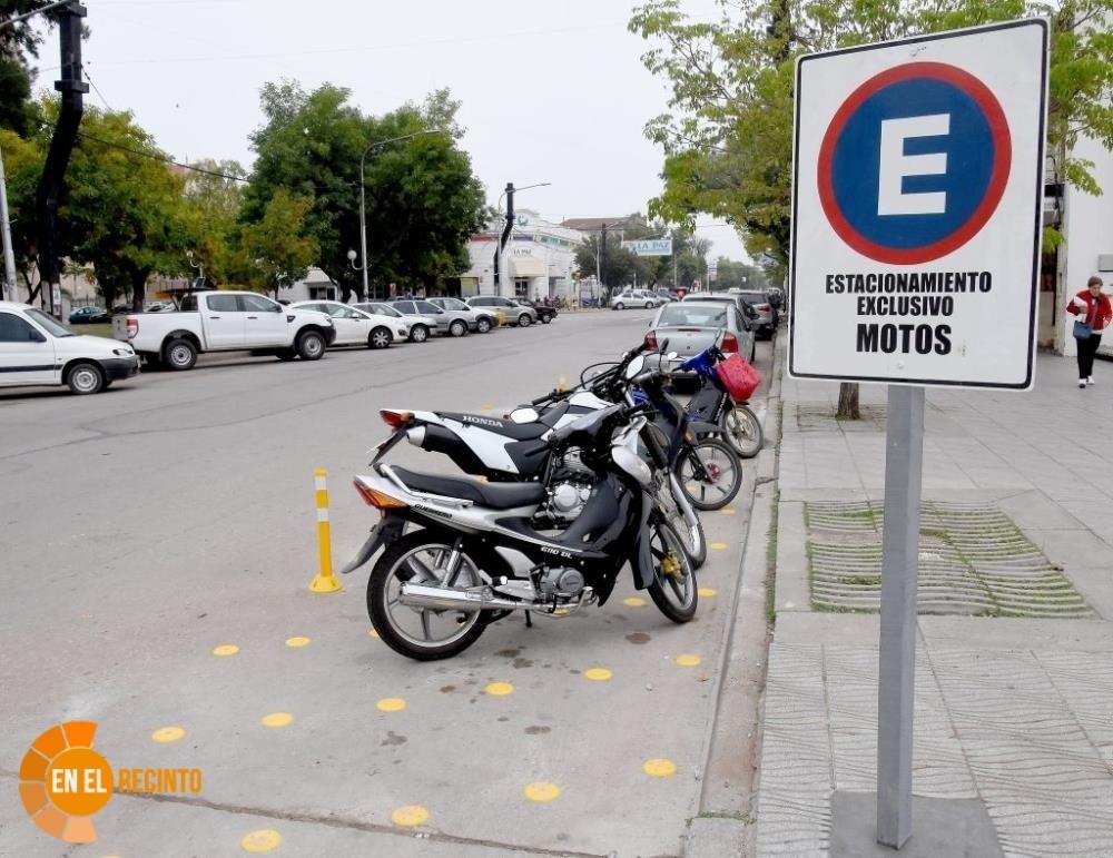 Pedido de un estacionamiento exclusivo de motos