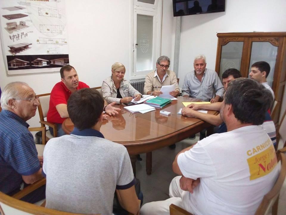 Reunión de la intendenta con cooperativa de carniceros