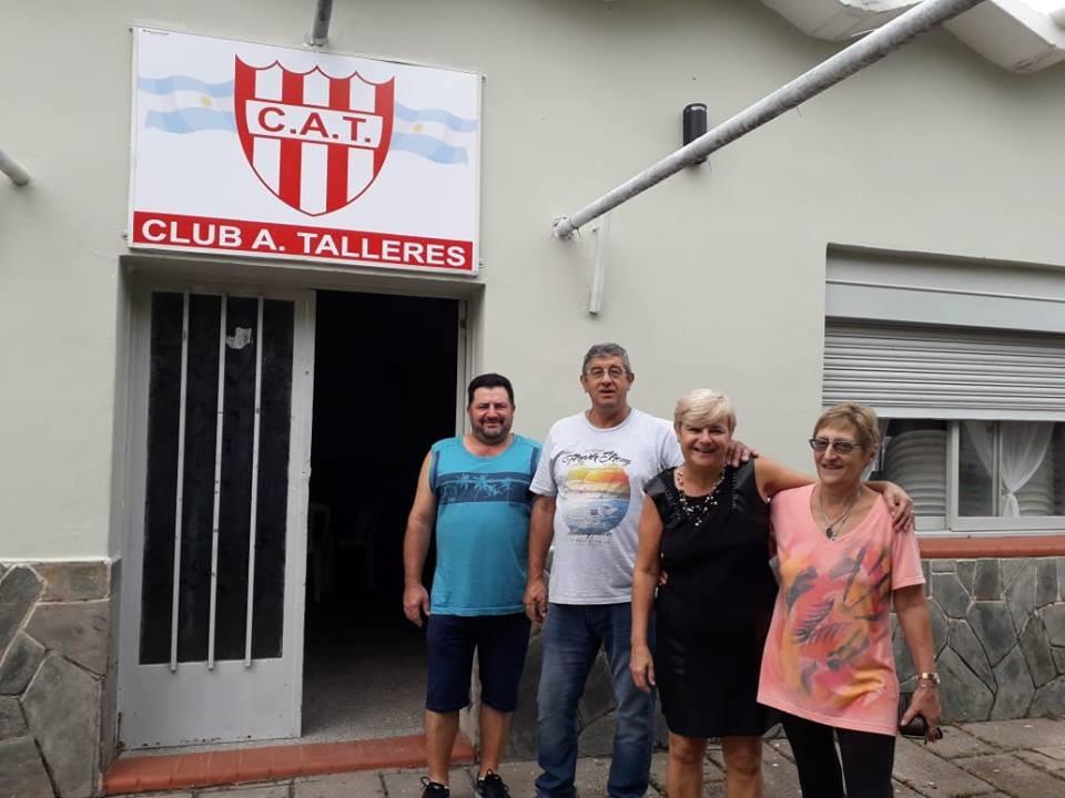 Aporte económico al club Talleres